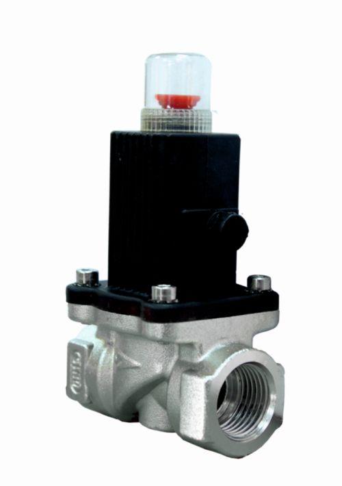 газовый запорный электромагнитный клапан купить